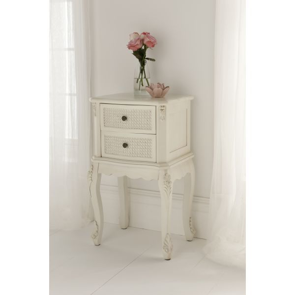 Antique french rattan bedside table room ideas pinterest antique french rattan bedside table watchthetrailerfo
