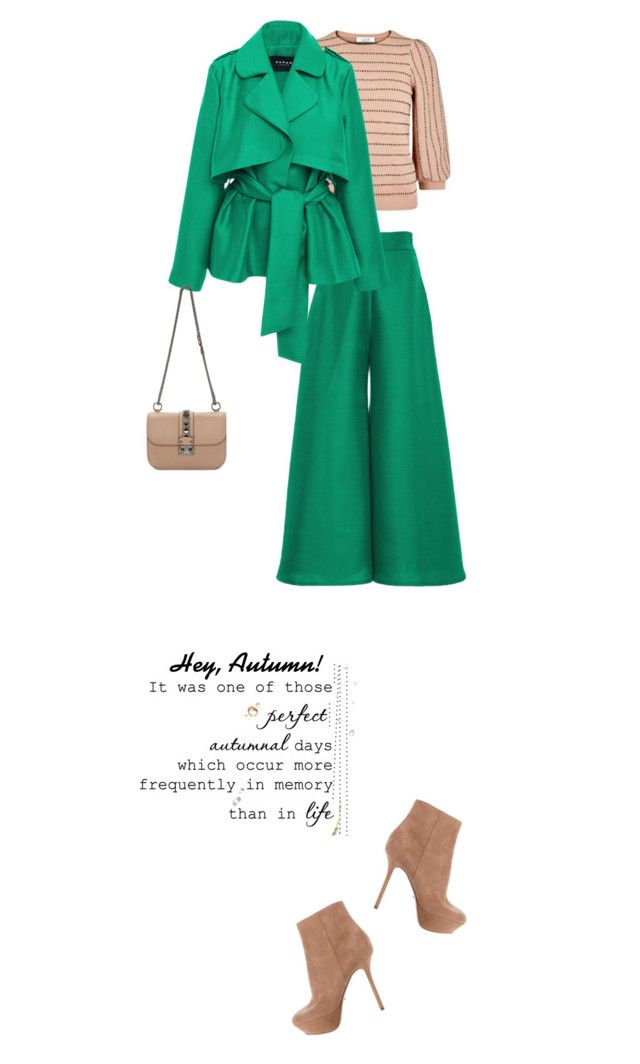 """""""Hey, Autumn!"""" by rasa-j ❤ liked on Polyvore featuring Sergio Rossi, Paper London, Valentino, womensFashion, Fall2016, autumn2016 and heyautumn"""