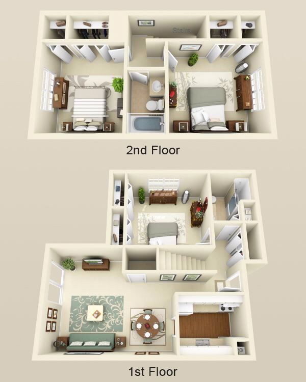 3d 3 Bedroom House Plans Beautiful Pin By Madilyn Bailey On Dream Homes In 2019 Sims House Sims 4 House Plans Bedroom House Plans