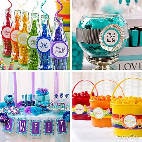 10 Sweet Ideas For A Fabulous Candy Buffet Cupcakes