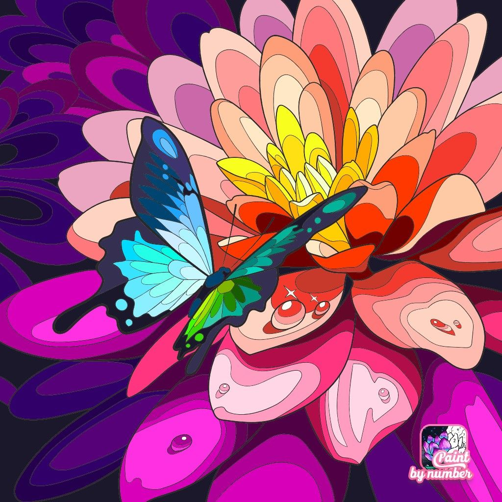 Pin By Sandrine On Coloriages Butterfly Art Coloring Pictures Coloring Books