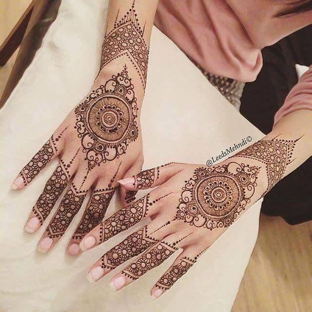 Mehndi Mandala Designs : Indian mehndi designs top best