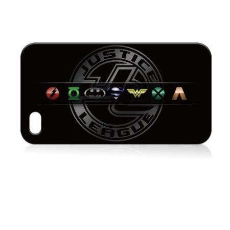 Amazon.com: Justice League Hard Case Skin for Iphone 4 4s Iphone4 At&t Sprint Verizon Retail Packing.: Everything Else