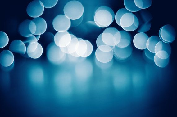 Christmas Photography - holiday decor blue christmas lights fine ...