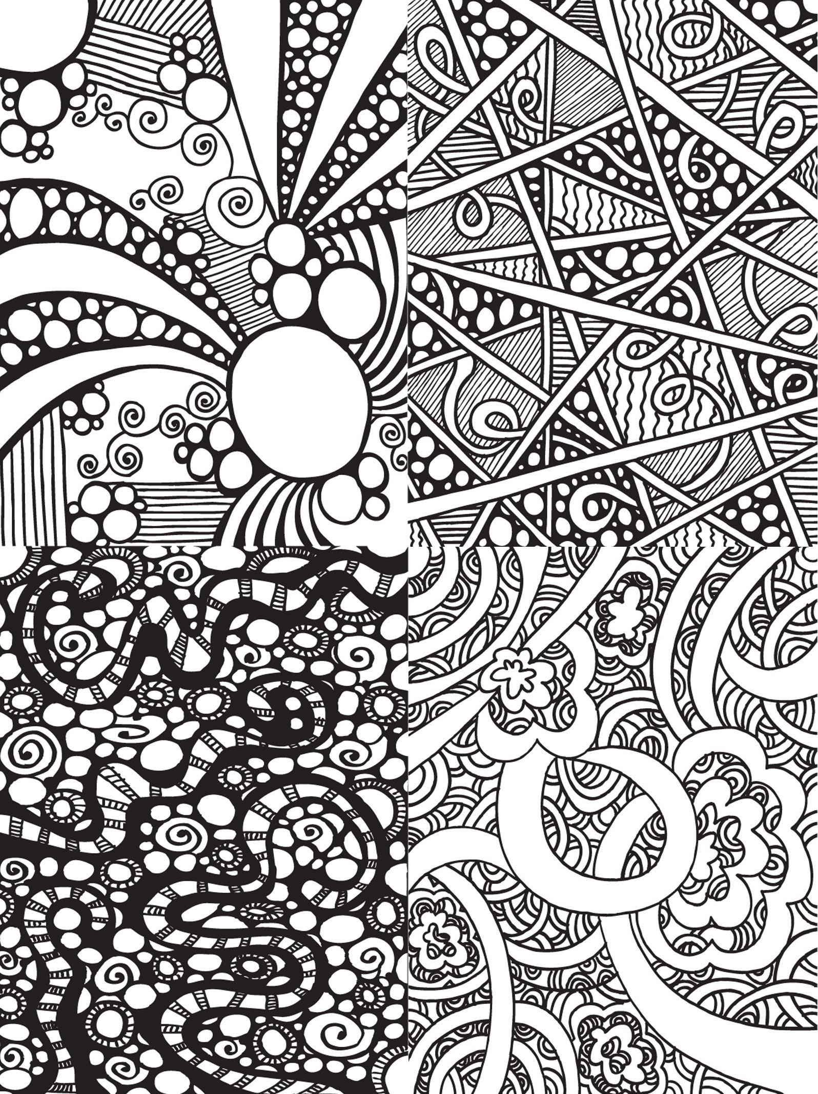 abstract doodles - Google Search | 4.may.coloring | Pinterest ...