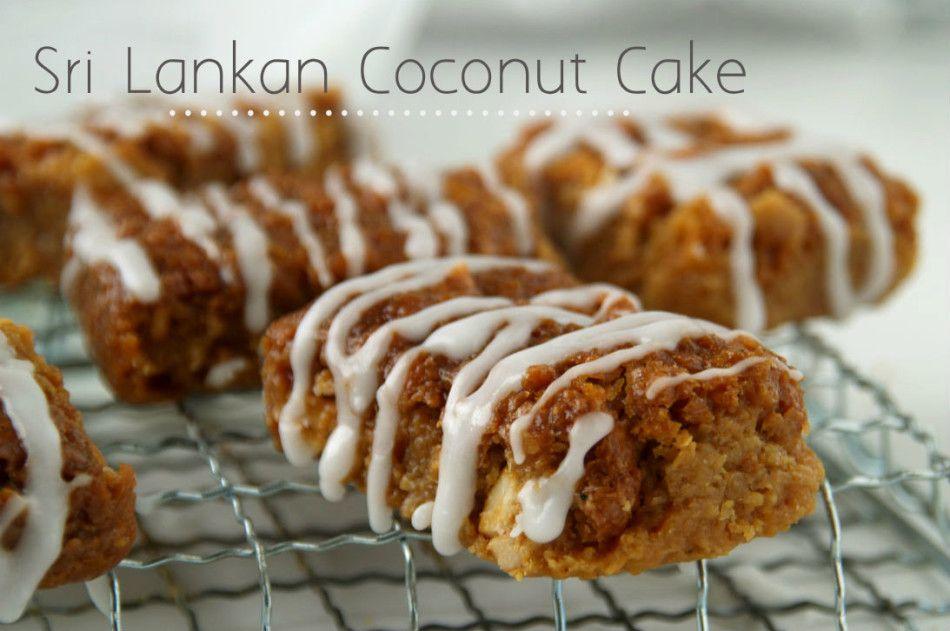 Cake Recipes In Sinhala Video: SRI LANKAN COCONUT CAKE (BIBIKAN) RECIPE