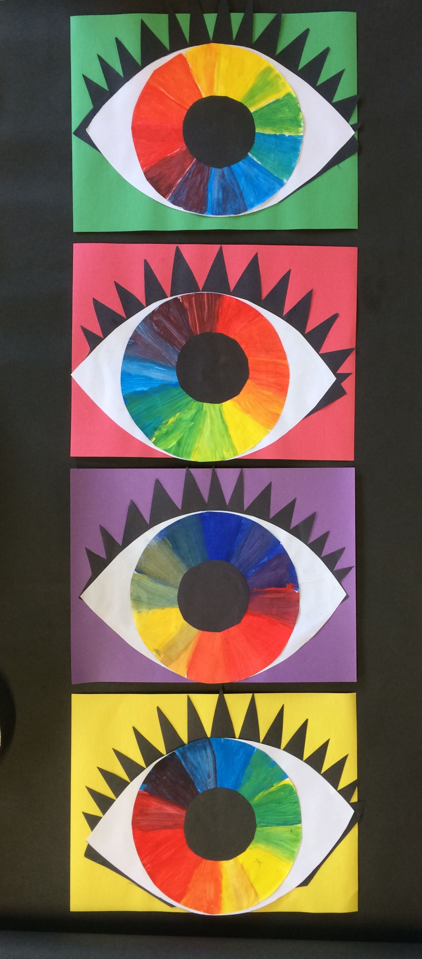 Colour Wheel Eyes