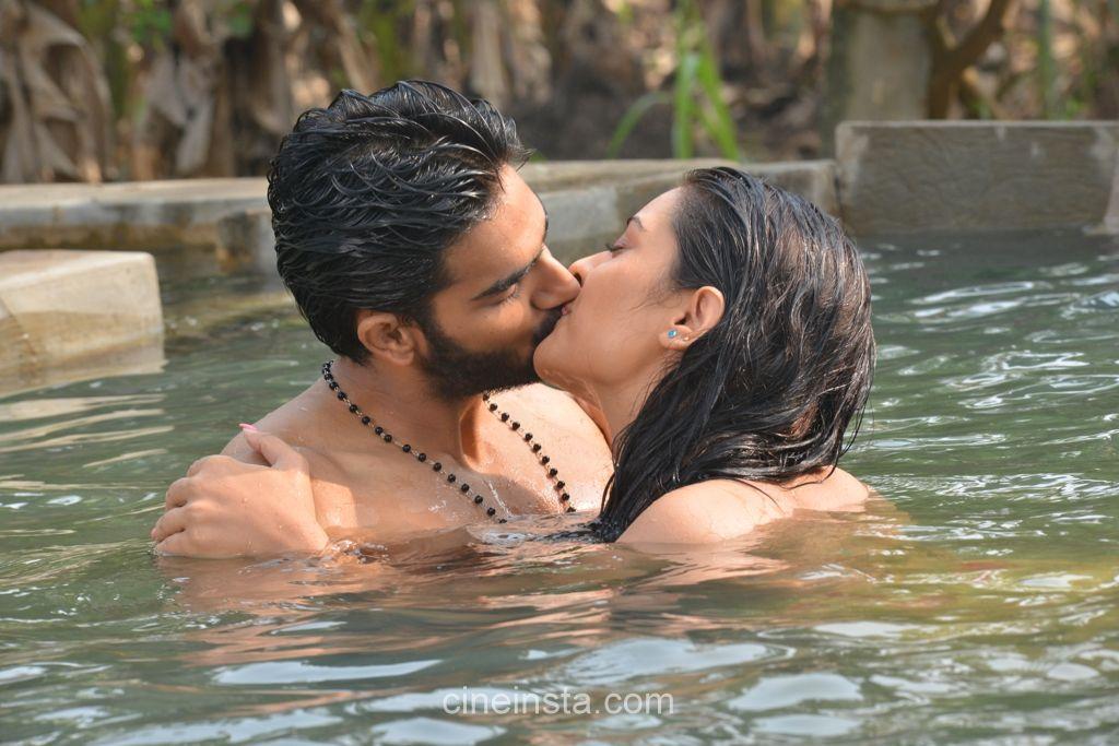 Hot Lip Lock Photos From Rx 100 Telugu Movie  New Movie -5289