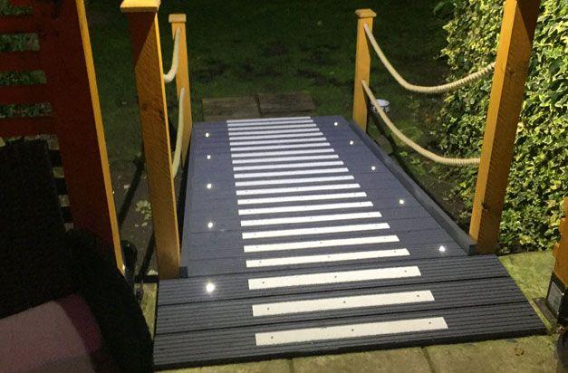 Best Non Slip Decking Strips Doorway Entrance Ramp Wooden 400 x 300