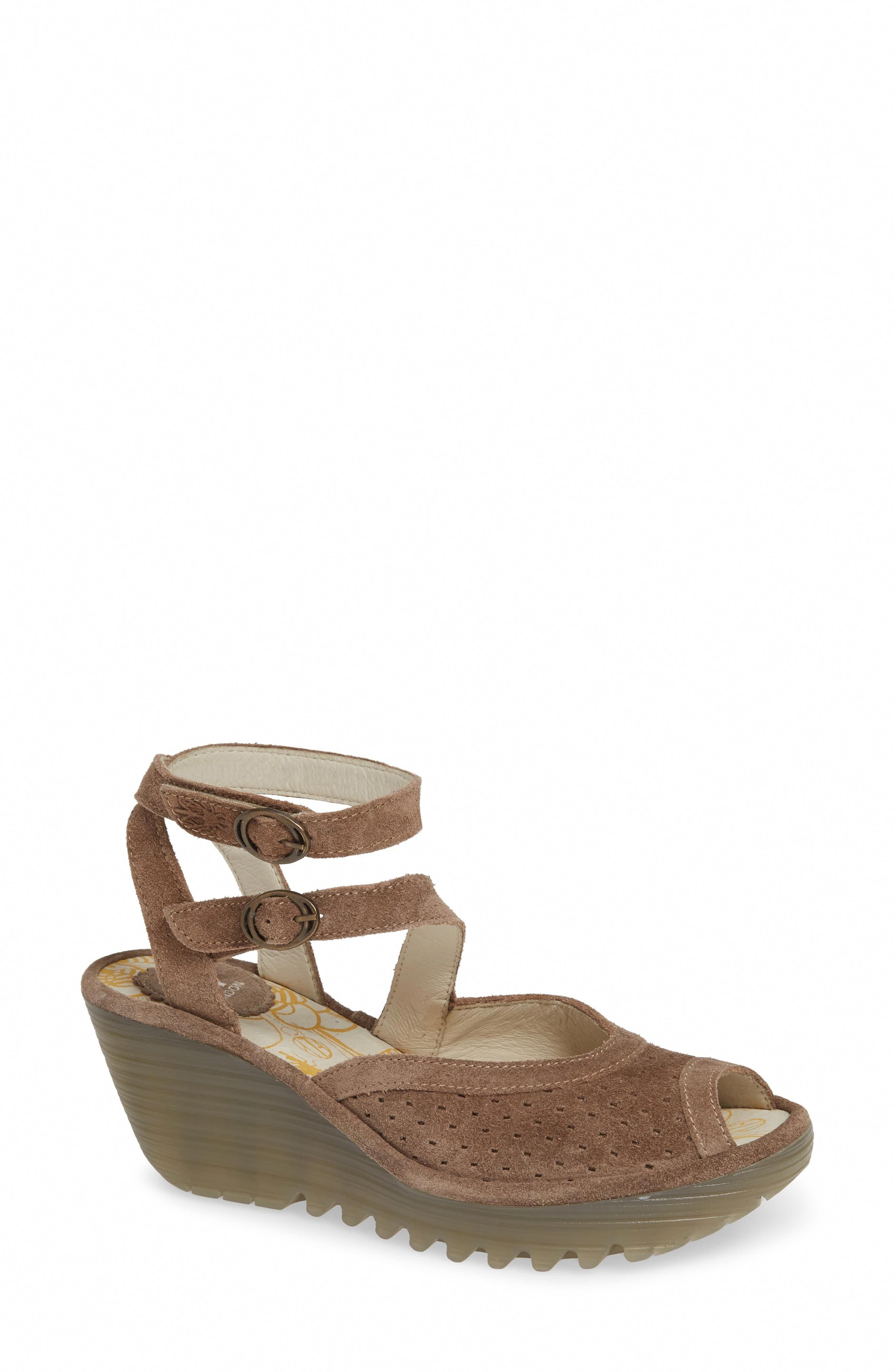 Wedge sandals, Fly london