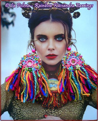 Rainbow Kassandra earrings