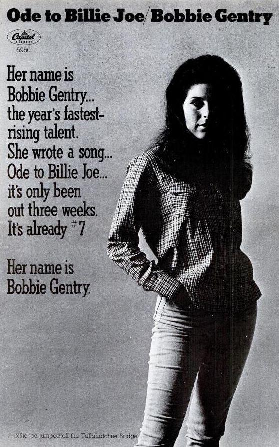 Lyric lyrics to ode to billy joe : Pin by mike prescott on music | Pinterest