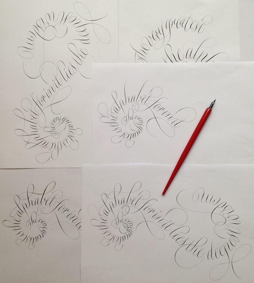 Rachel Yallop Calligraphy Etc Pinterest Calligraphy