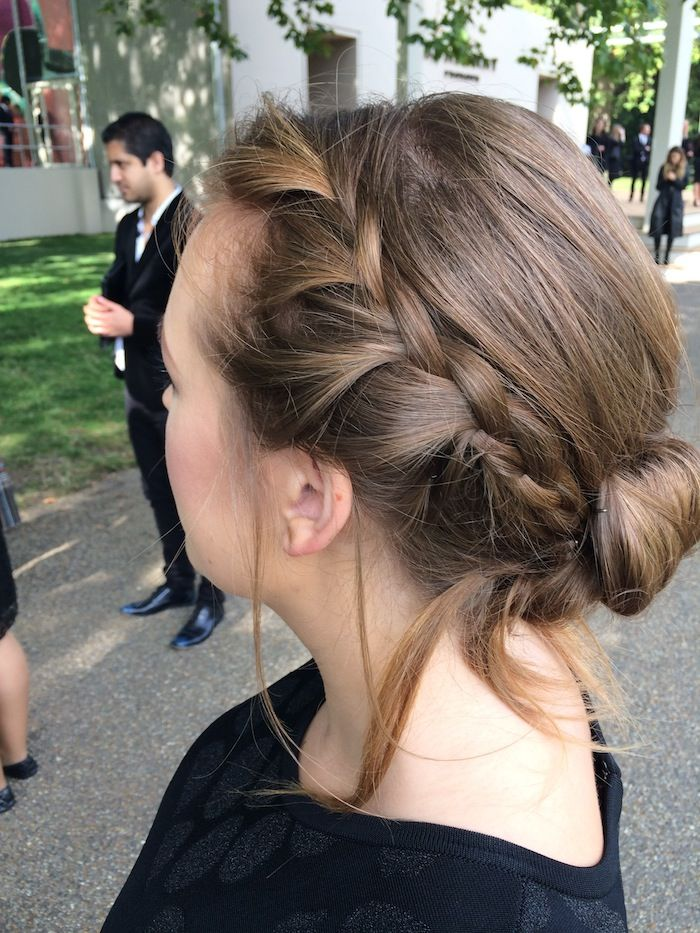 Tanya Burr Hair Updo Braid Hair Pinterest Tanya Burr Updo