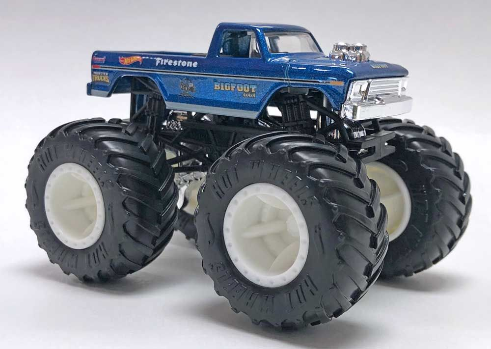 Hot Wheels Classic Bigfoot Toy 1 64 Scale Hot Wheels Monster Truck Toys Monster Trucks