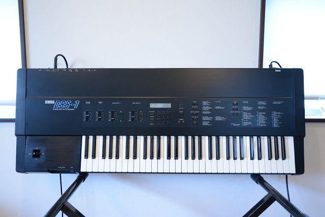 MATRIXSYNTH: Korg DSS-1 Digital Sampling Synthesizer SN 000694