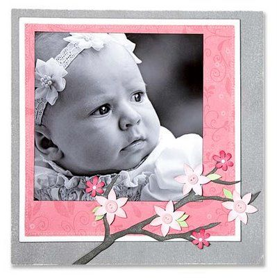 Baby papercrafting idea from #CTMH.