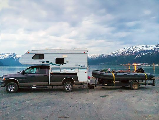 Truck Campers Go Boating Part 2 Truck Camper Truck Camping