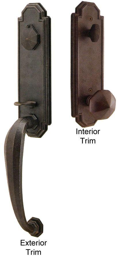 Entry Bronze Door Knobs And Hardware Emtek Octagon Bronze Entry
