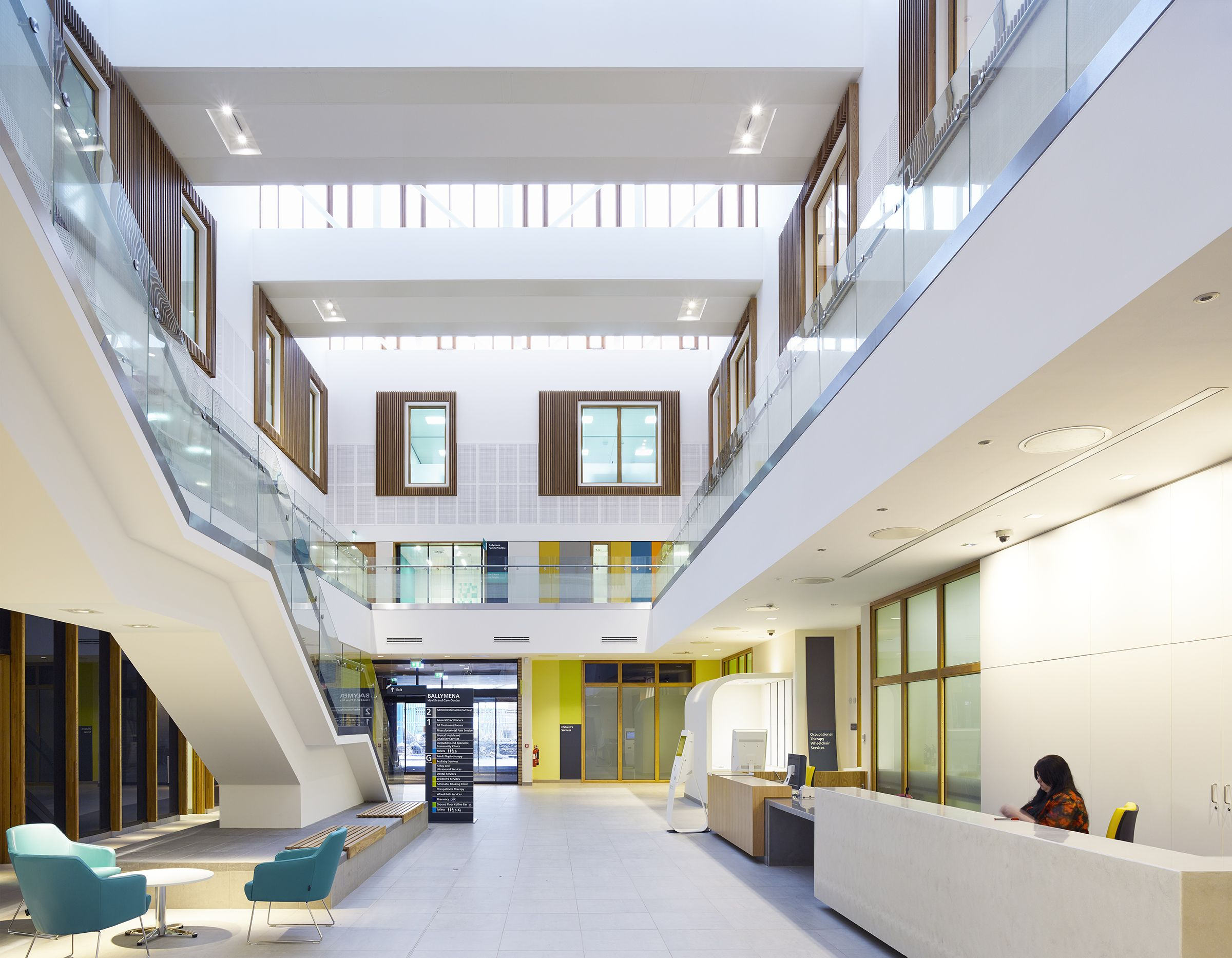 Amazing Health Centre, Ballymena. Keppie Design And Hoskins Architects Image ©  David Cadzow