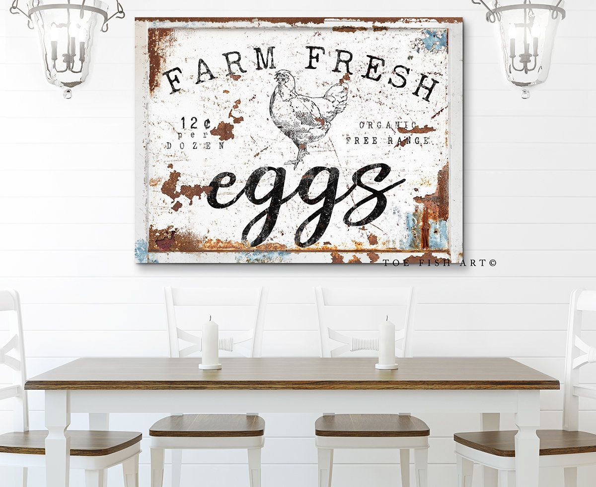Modern Farmhouse Wall Decor Kitchen