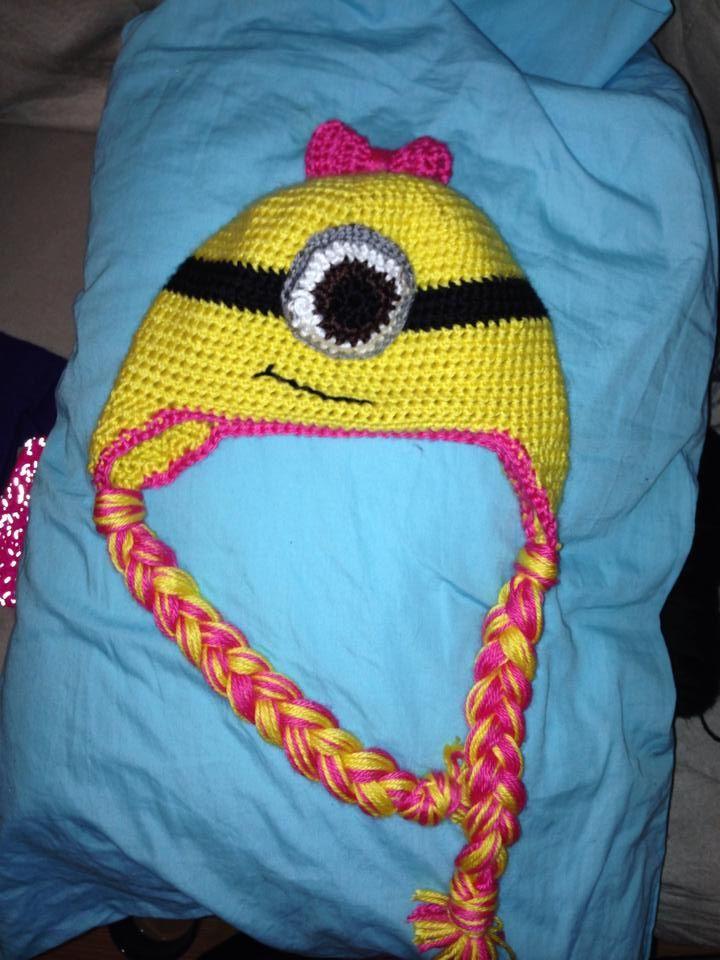 Sarah Lynn Ls Minion Hat In Caron Simply Soft Crochet Patterns