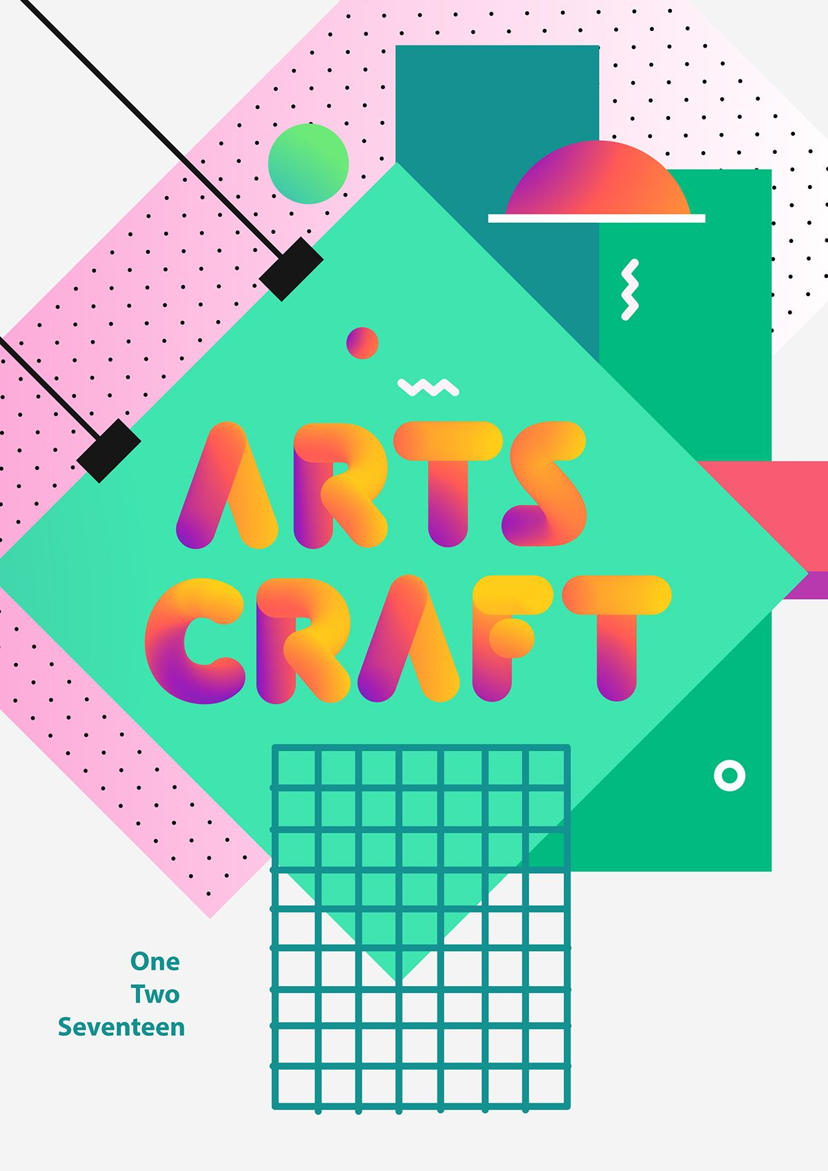 Free SOFTA FONT Instagramic colors on Behance (With