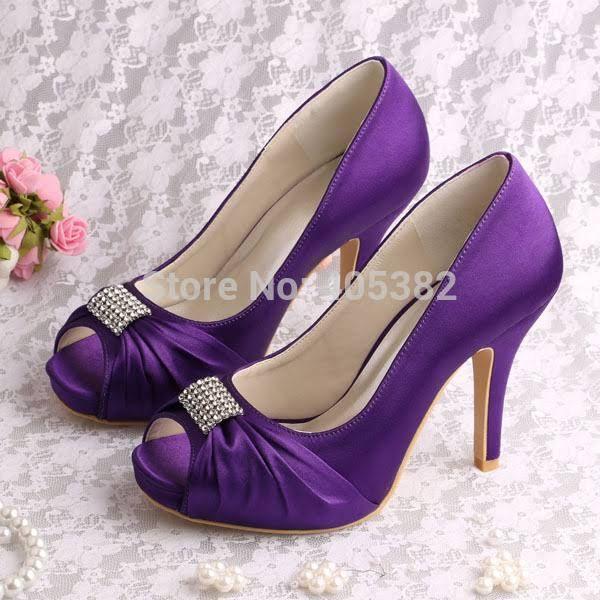 Purple Wedding Heels Purple Wedding Shoes Wedding Shoes Heels