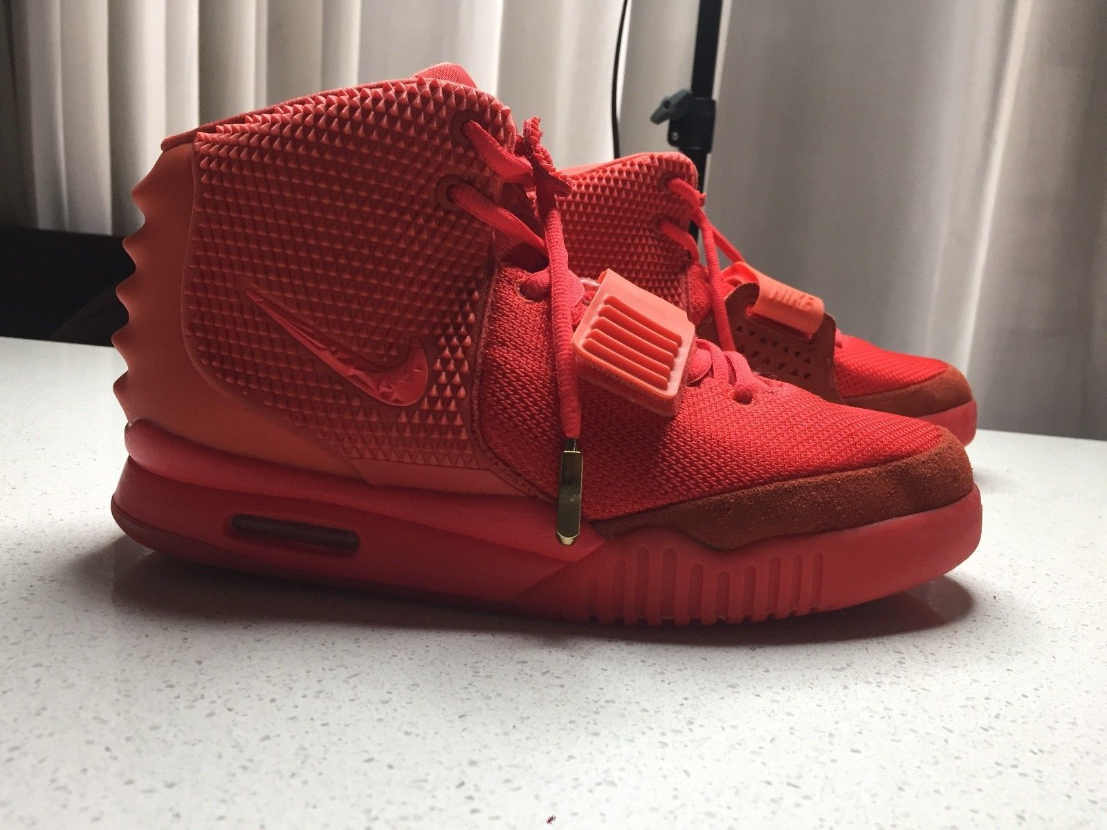 caebdf679 where to buy nike air yeezy 2 red october 100 authentic 61269 87bc4