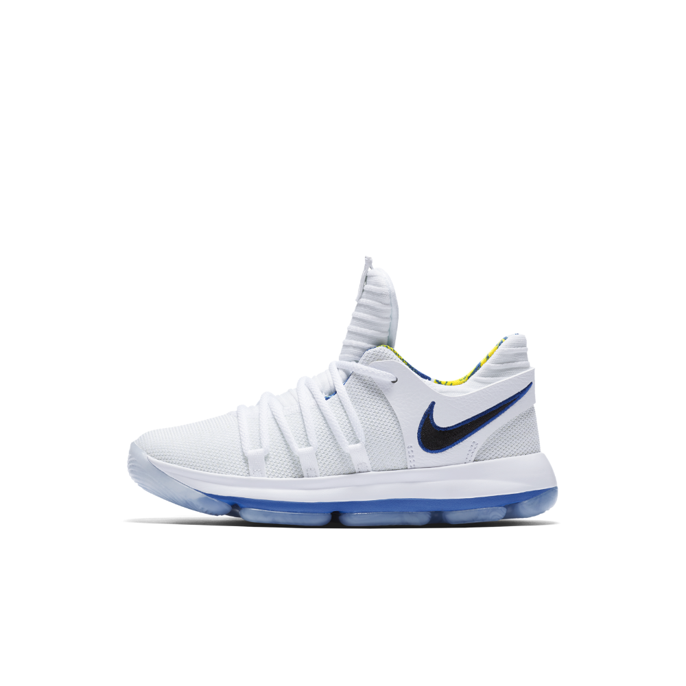 low priced 21eee bf1ab Nike KDX Limited NBA Little Kids  Shoe Size 13.5C (White)