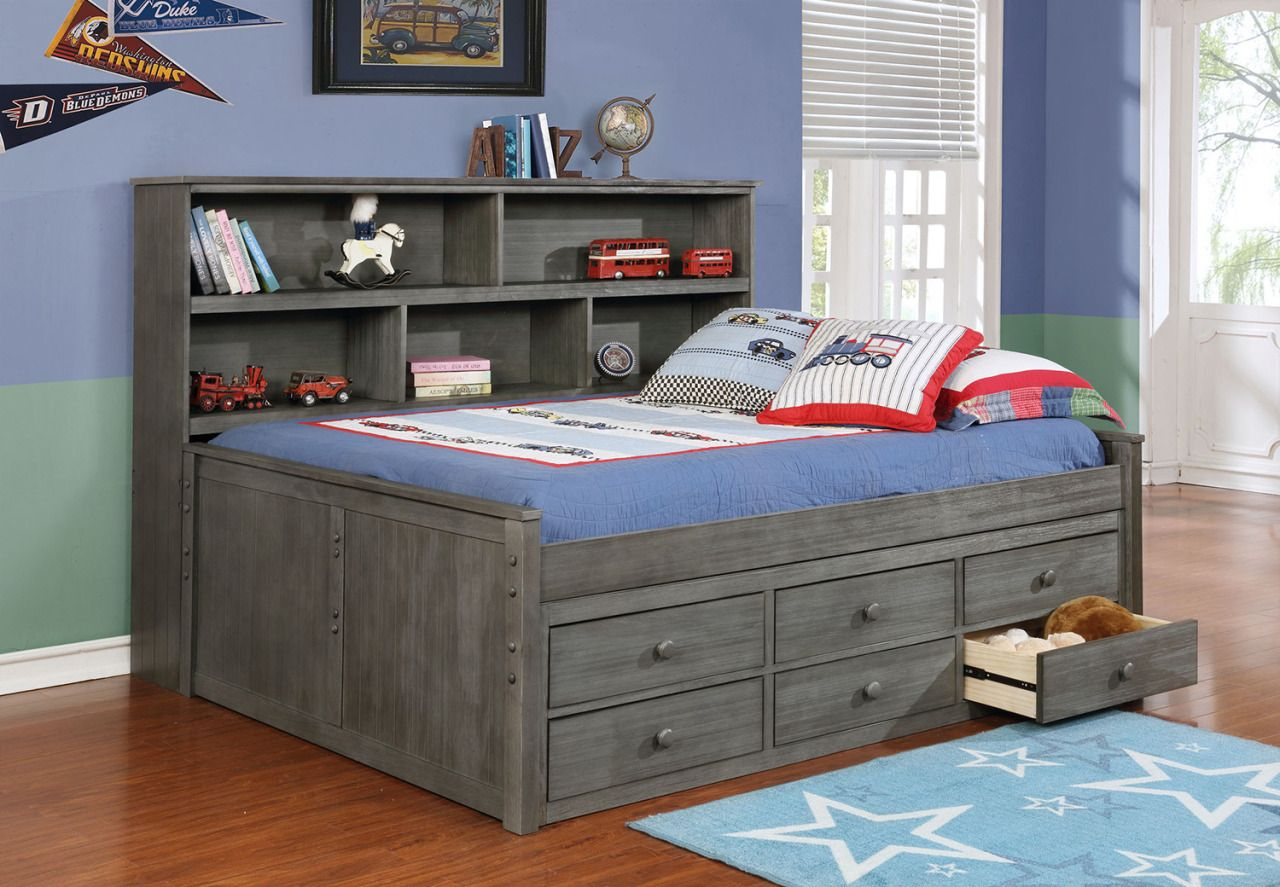 Kids Beds With Storage The Best Bet For Your Beloved Kids Bookcase Bed Furniture Kid Beds