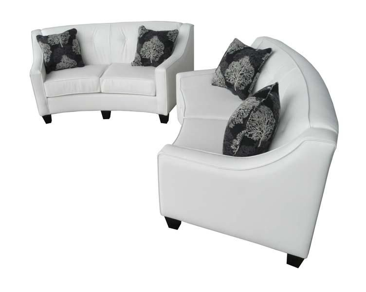Custom Curve Loveseat Love Seat Custom Sofa Bean Bag Chair