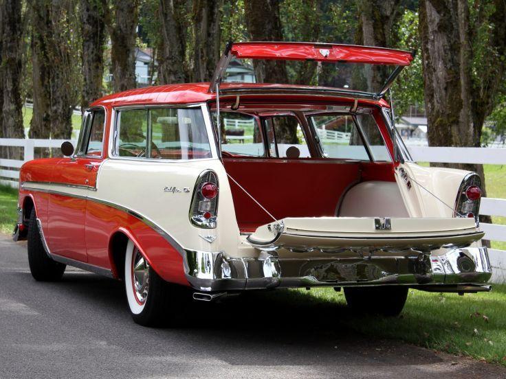 1956 Chevrolet Bel Air Nomad Retro Stationwagon Interior F Wallpaper 2048x1536 115131 Chevrolet Bel Air Classic Cars Trucks Chevrolet