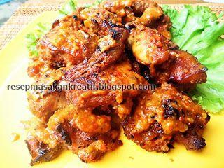 Resep Ayam Bakar Bumbu Rujak Pedas Meresap Vlees