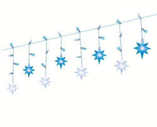 12 Led Ling Stars Light Set At, Outdoor Timer For Lights Menards