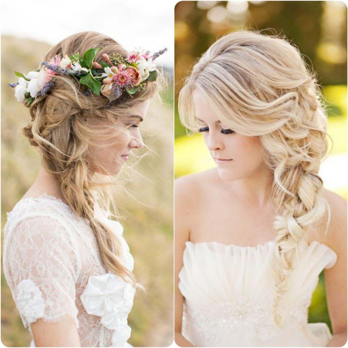 Braid Hairstyles For Wedding Party: Messy-Side-Braids...styloplanet.com_.jpg (1200×1200