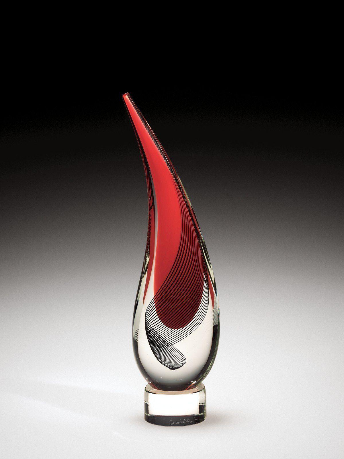Lacrima I Lino Tagliapietra Seattle Washington United States 1991 Gift Of The Ben W Heineman Sr F Corning Museum Of Glass Glass Art Sculpture Glass Art