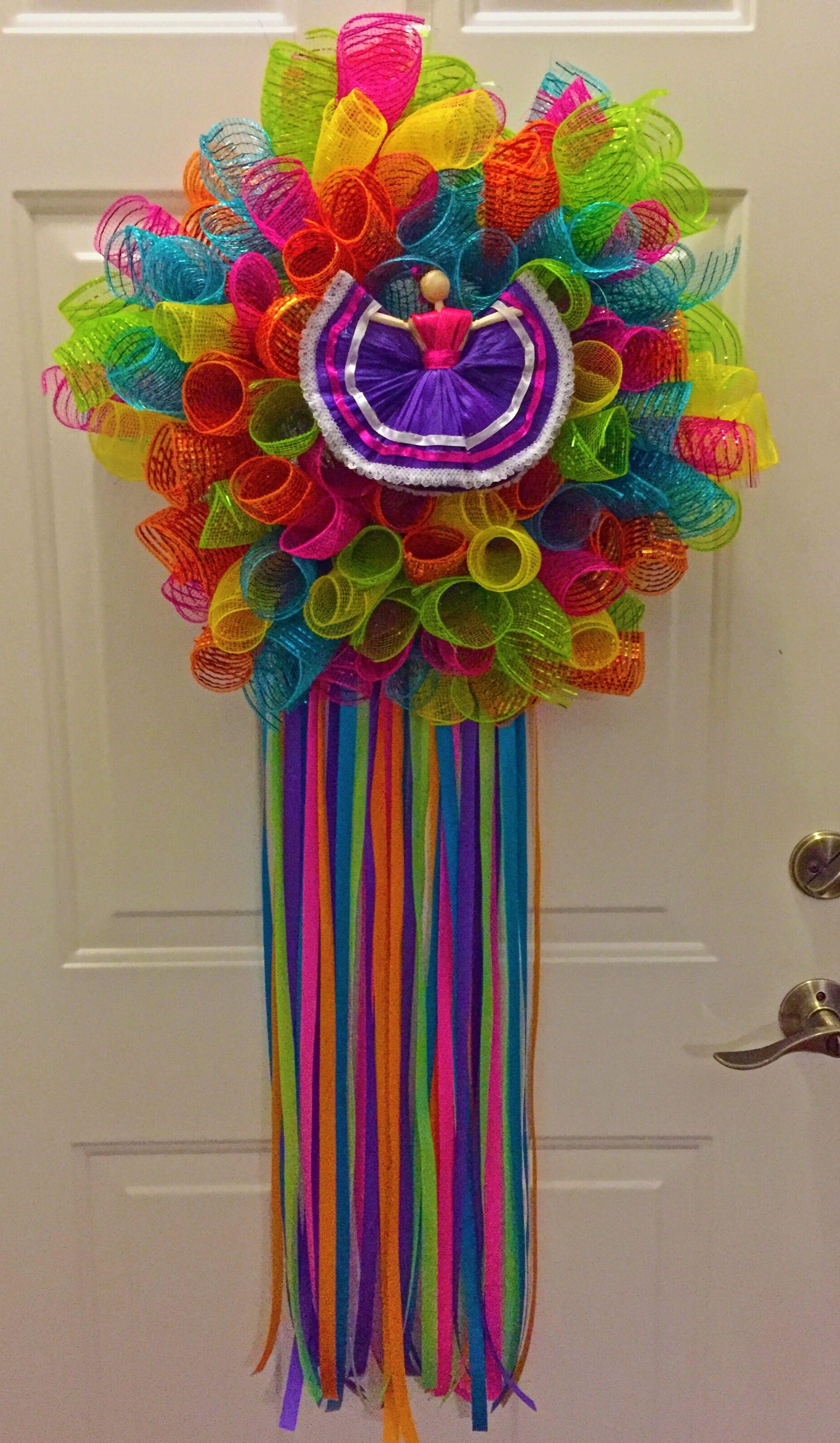 Fiesta Wreath   Wreaths for Sale   Holiday wreaths ...