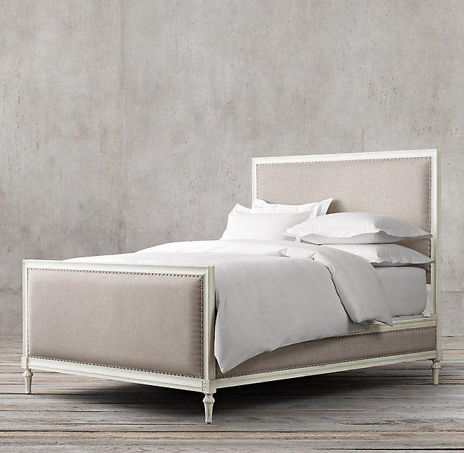 Detailed Restoration Hardware Furniture Review With Honest Thoughts Upholstered Beds Bed Furniture Bedroom Panel