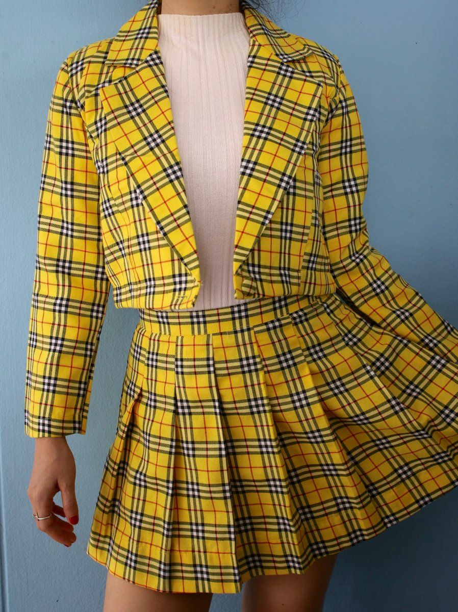Clueless Inspired Tartan Outfits Clueless Outfits