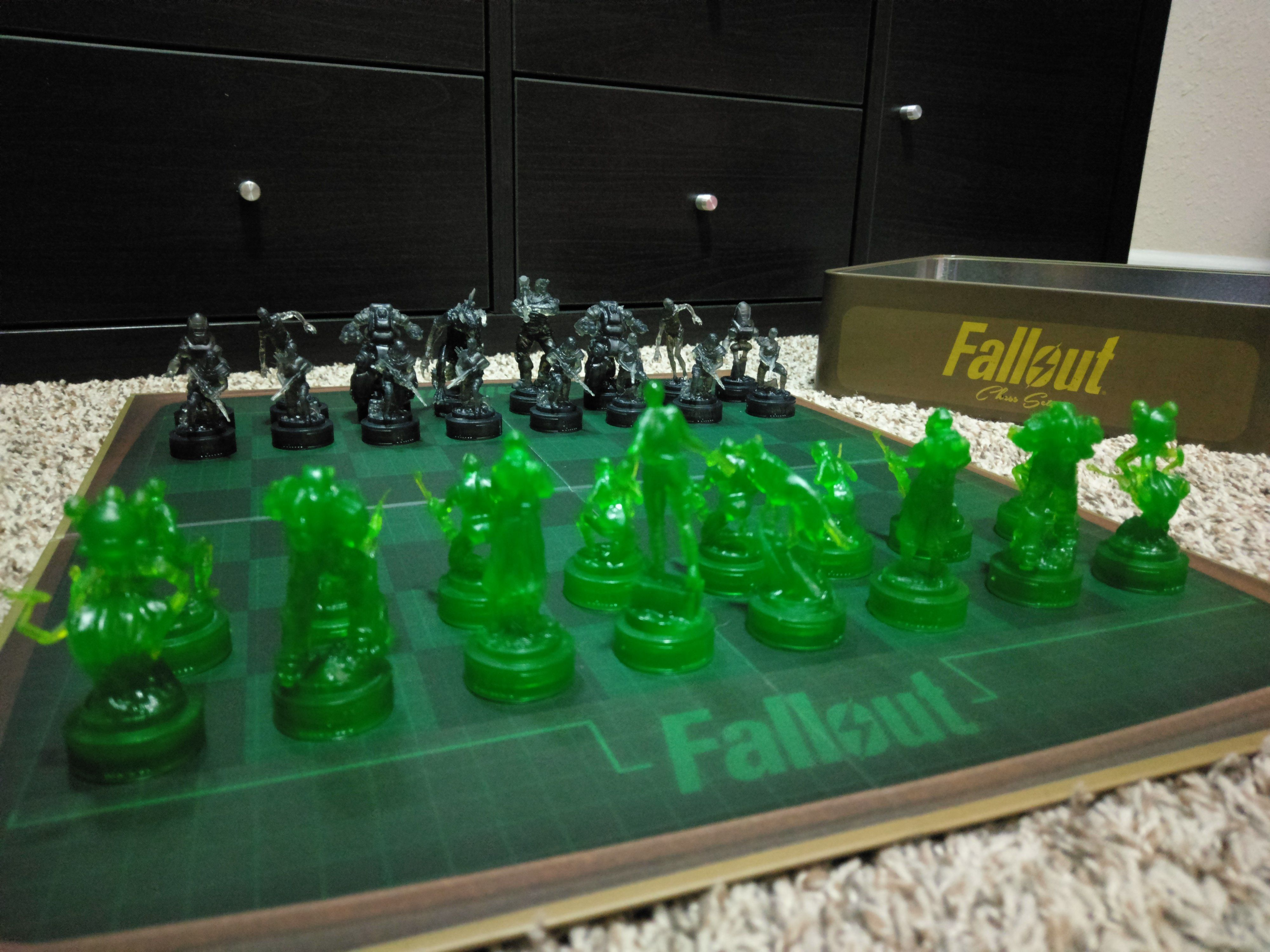 Fallout Chess Set LatestGames Chess Fallout Games