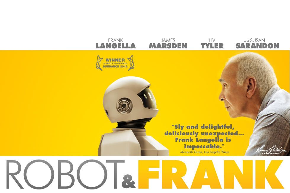 Robot & Frank- I just really need to see this movie. | Frank movie ...