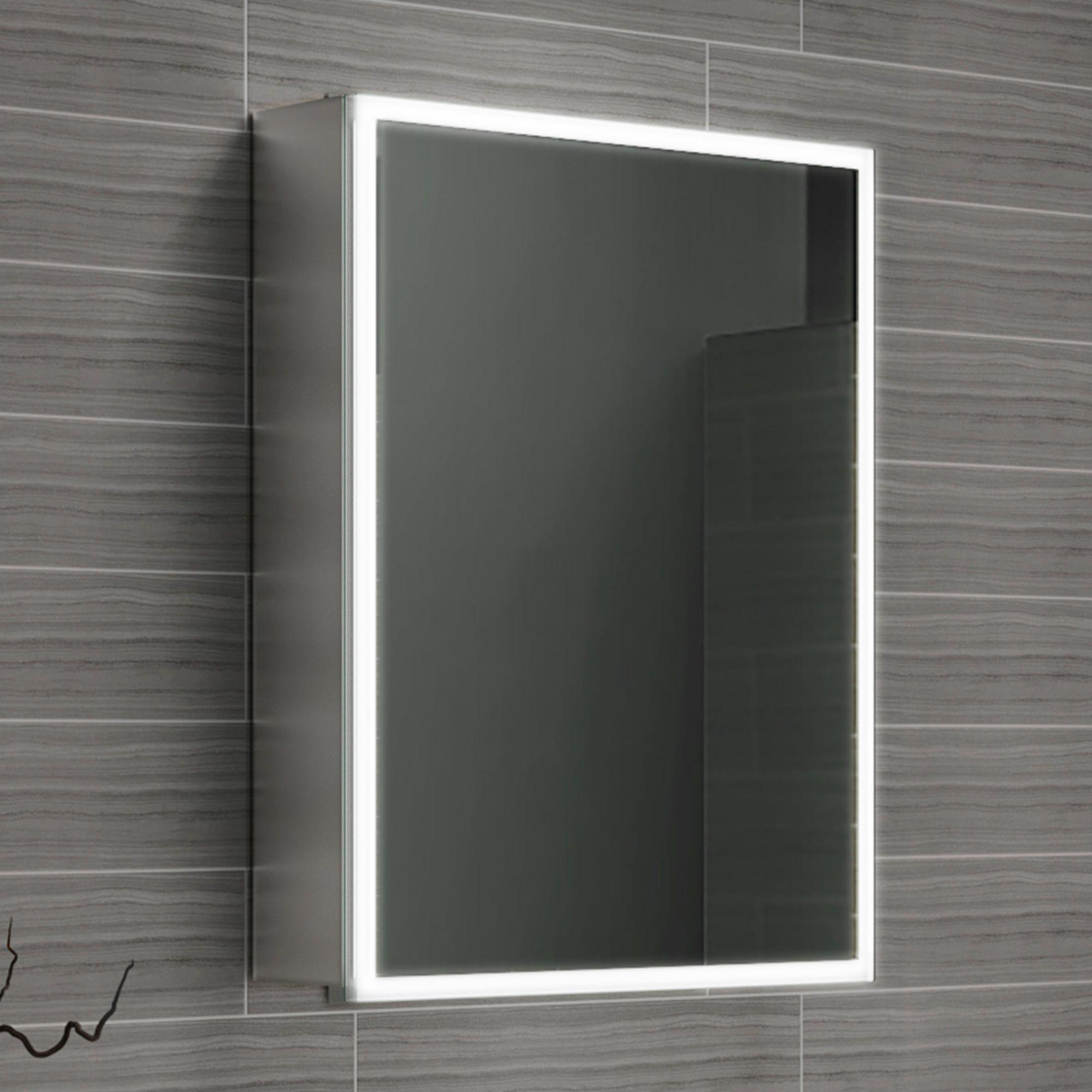 450x600 Cosmic Illuminated Led Mirror Cabinet Soak Com Mirror Cabinets Led Mirror Bathroom Inspiration Decor