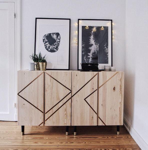 Ivar Made Chic Ikea Furniture Hacks Ikea Cabinets