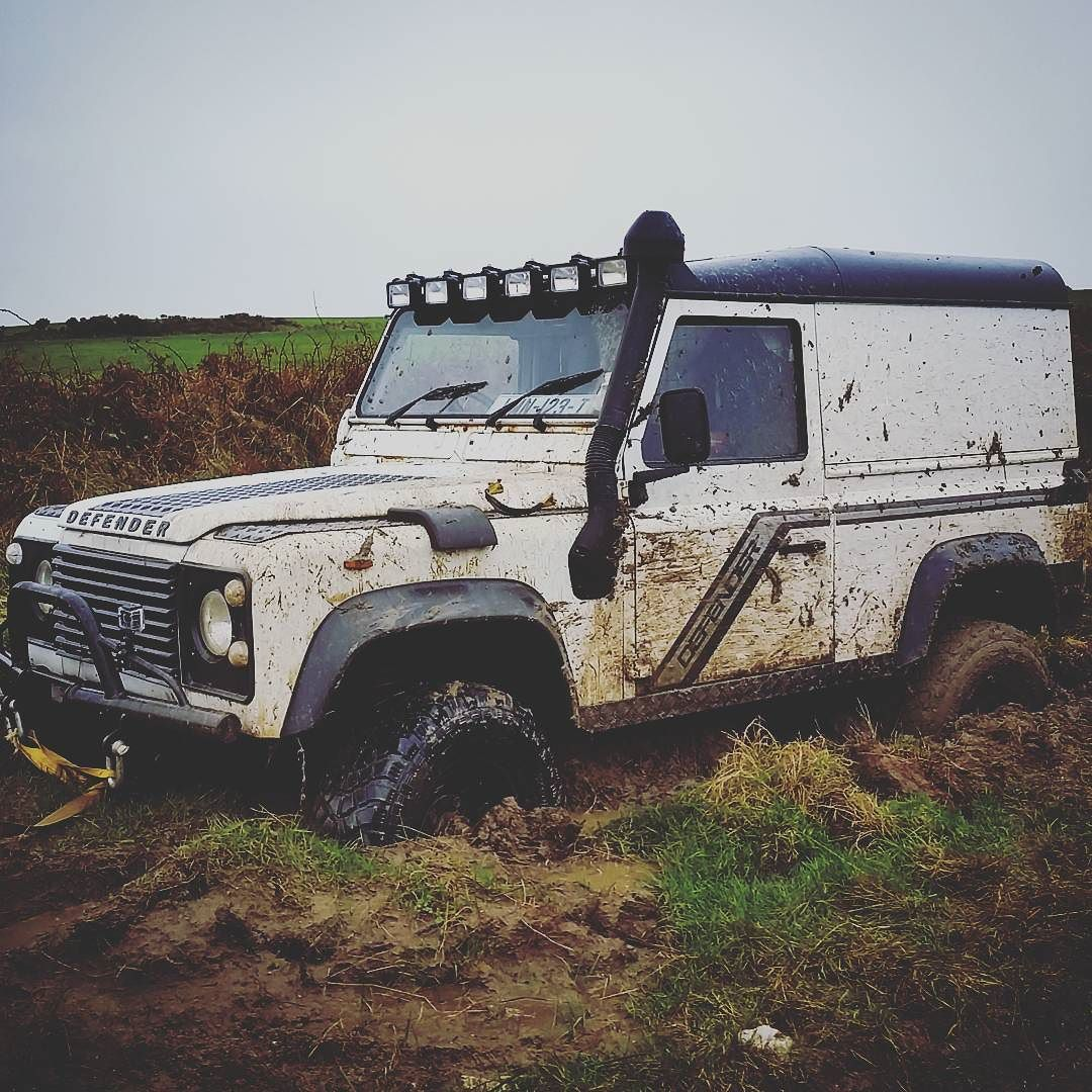 Stuck in mud