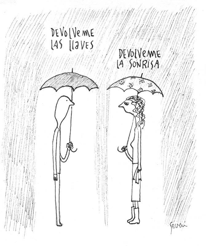 Las Emotivas Y ácidas Caricaturas De Marcos Severi