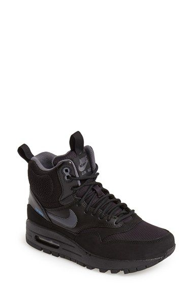 Nike 'Air Max 1 Mid' Waterproof Sneaker (Women) available at #Nordstrom