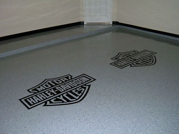 8 Easy And Affordable Garage Floor Options Flooringideasforgarage Rubber Garage Flooring Garage Floor Tiles Inexpensive Flooring