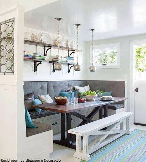 Banquette seating | ev | Pinterest | Cuisine moderne, Industriel et ...