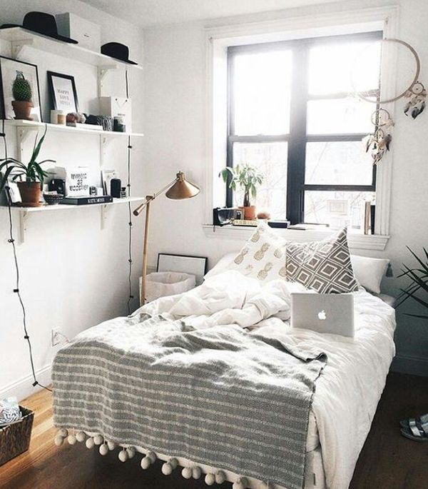 Best 25 Most Beautiful And Stylish Tiny Bedrooms To Inspire You 640 x 480